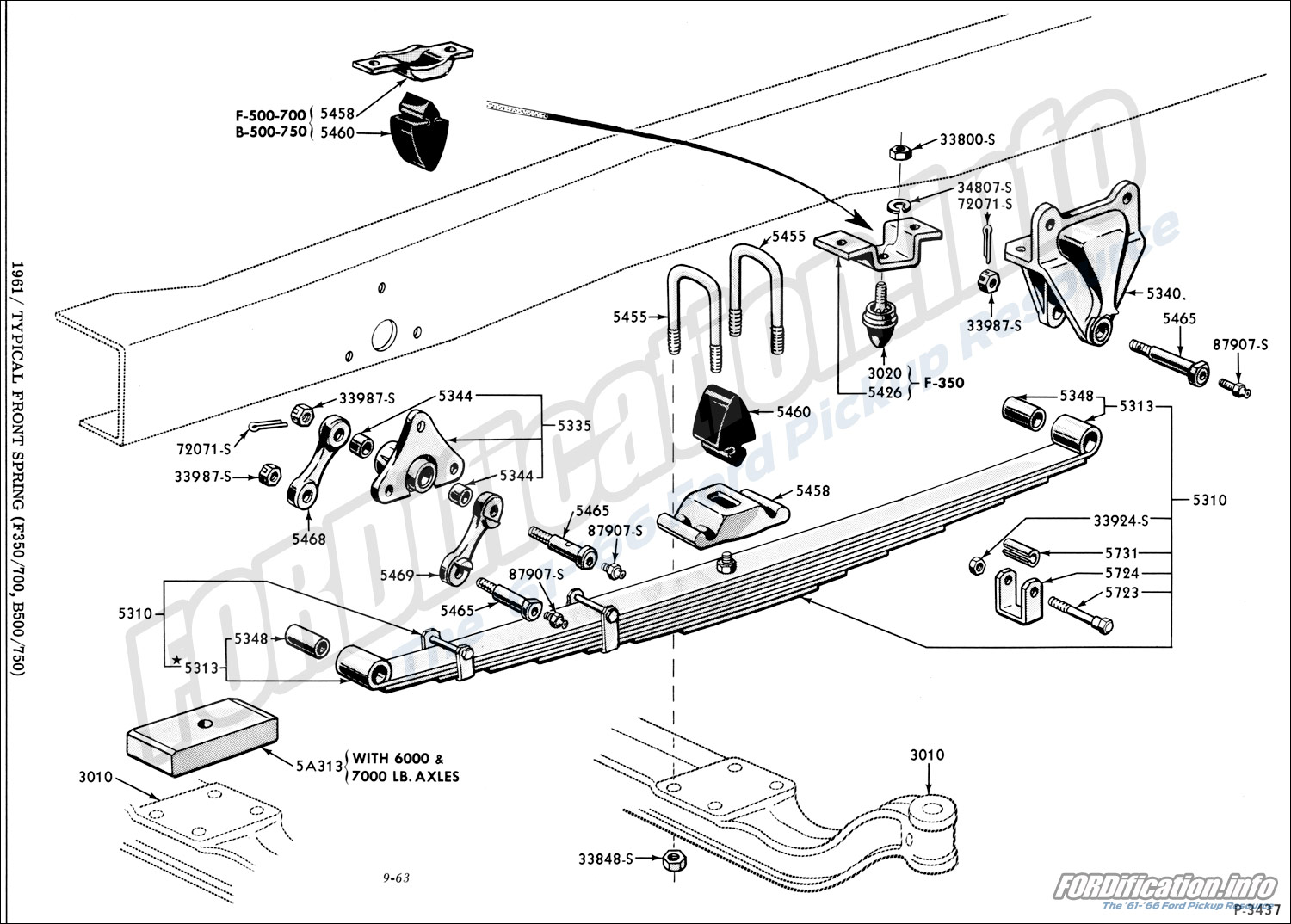 front  rear axle  u0026 suspension schematics