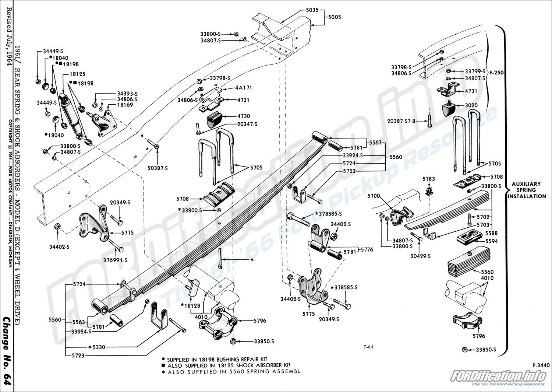 front  rear axle  u0026 suspension schematics