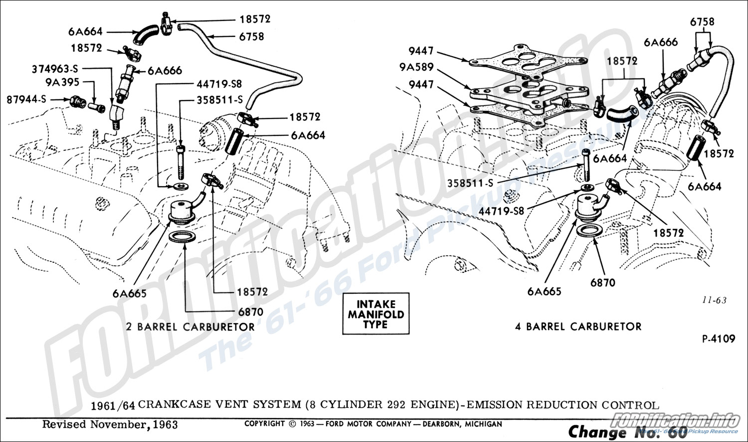 Ford Y Block Diagram Auto Electrical Wiring Flathead V8 Engine 292