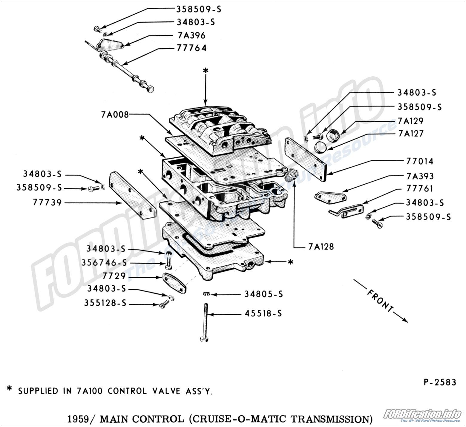 drivetrain schematics - fordification info