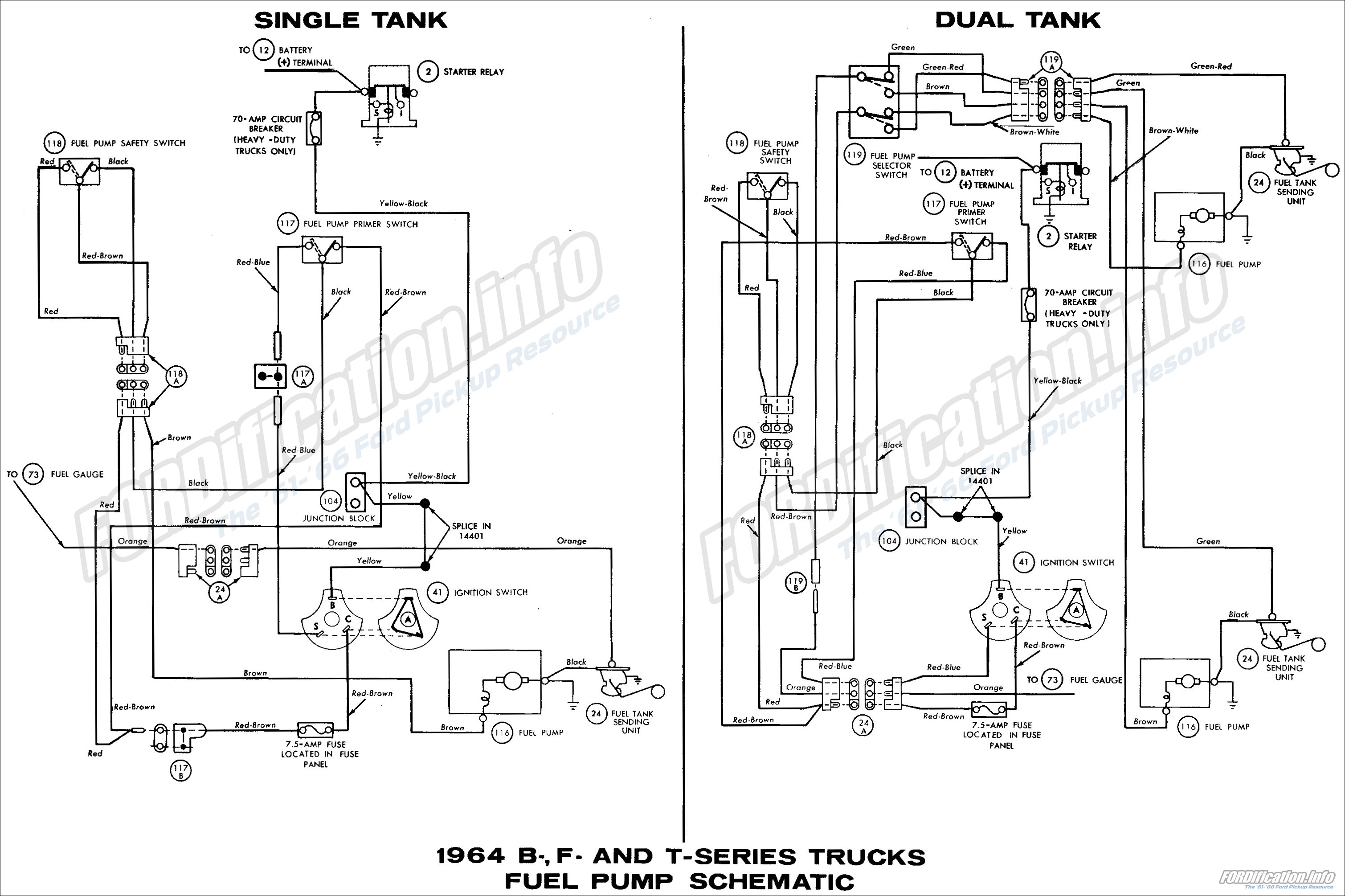 64 Ford Wiring Diagram Trusted Schematics 1964 Truck Schematic Diagrams Distributor
