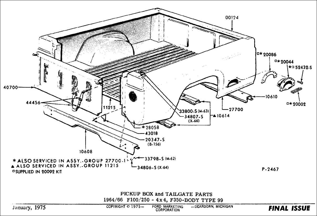 57 ford parts catalog