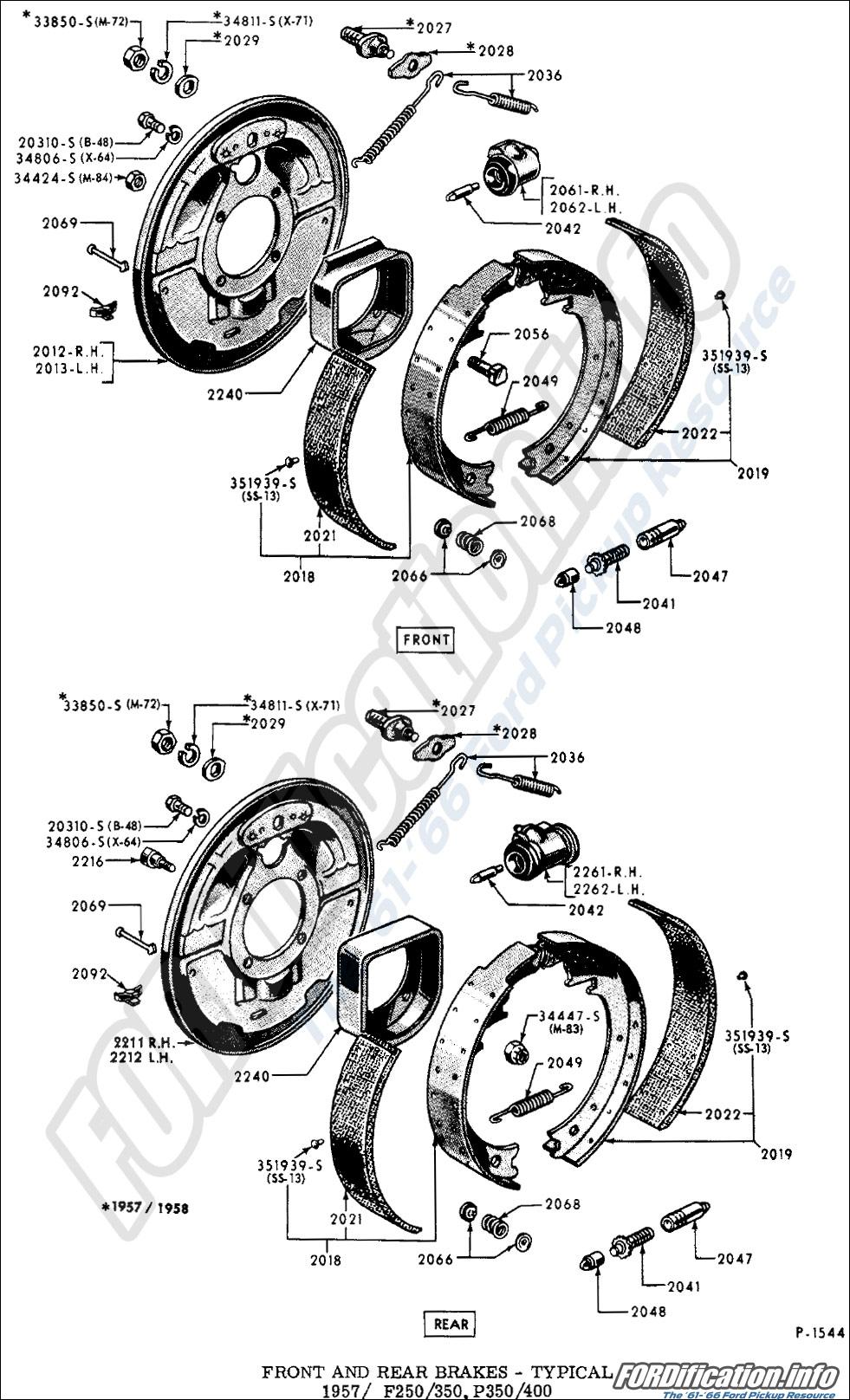 brake system schematics - fordification info
