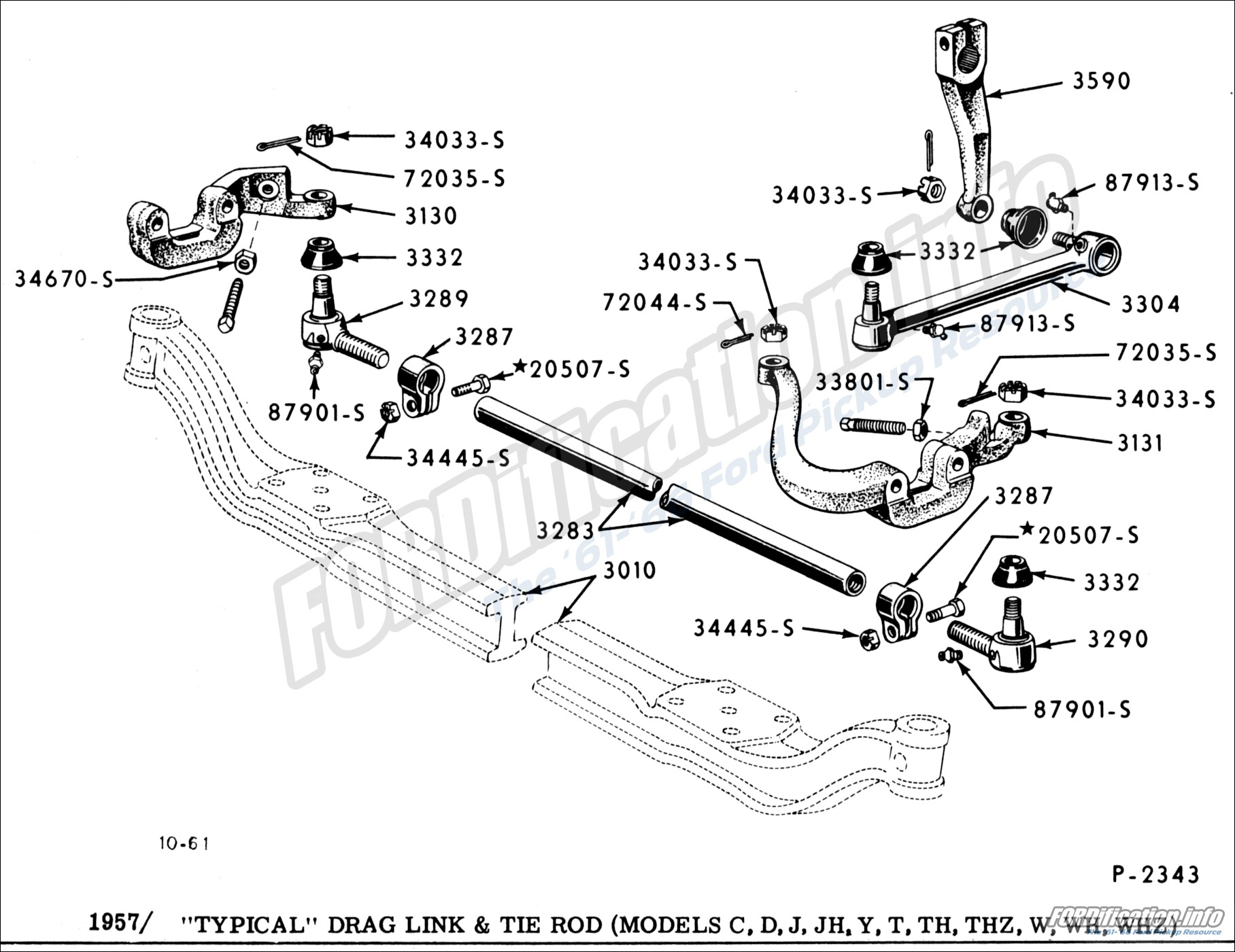 Steering System Schematics - Fordification Info