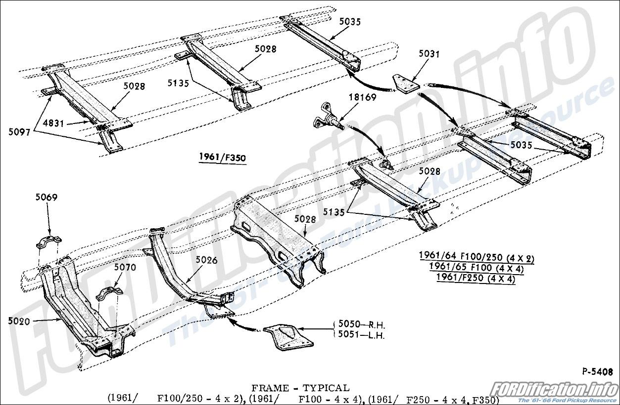 Frame  U0026 Body Schematics - Fordification Info