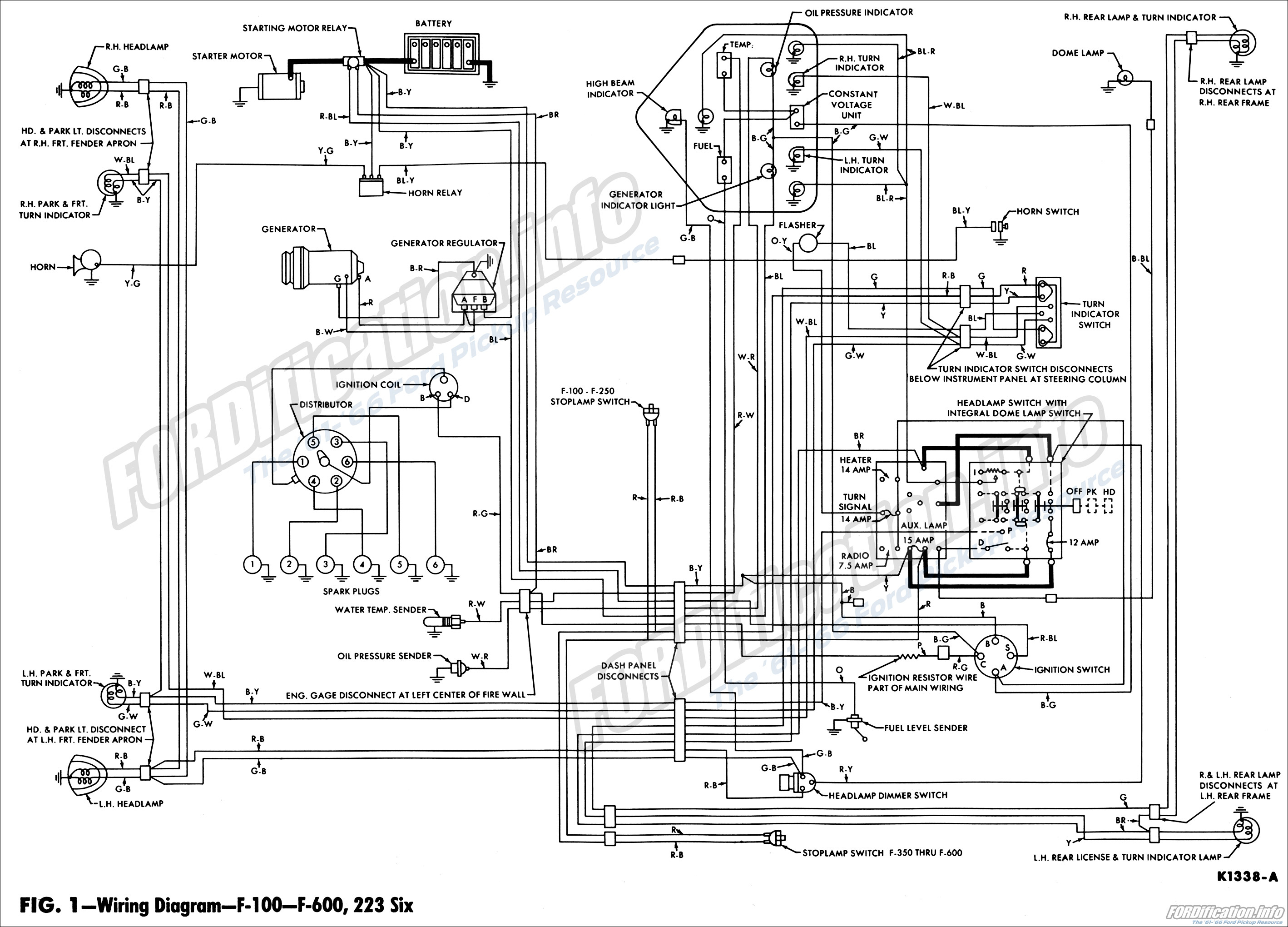 1962 Ford Truck Wiring Diagrams - FORDification.info - The ...