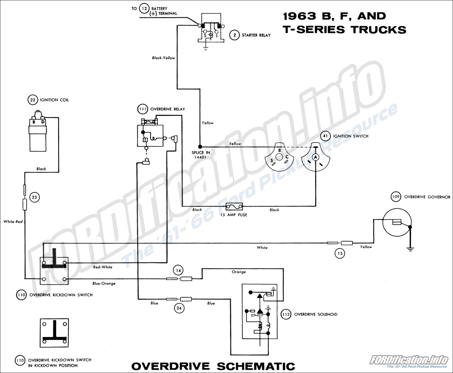 1963 Ford Truck Wiring Diagrams - Fordification Info